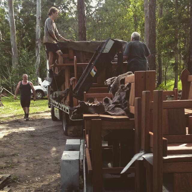 Timber Tables Delivered